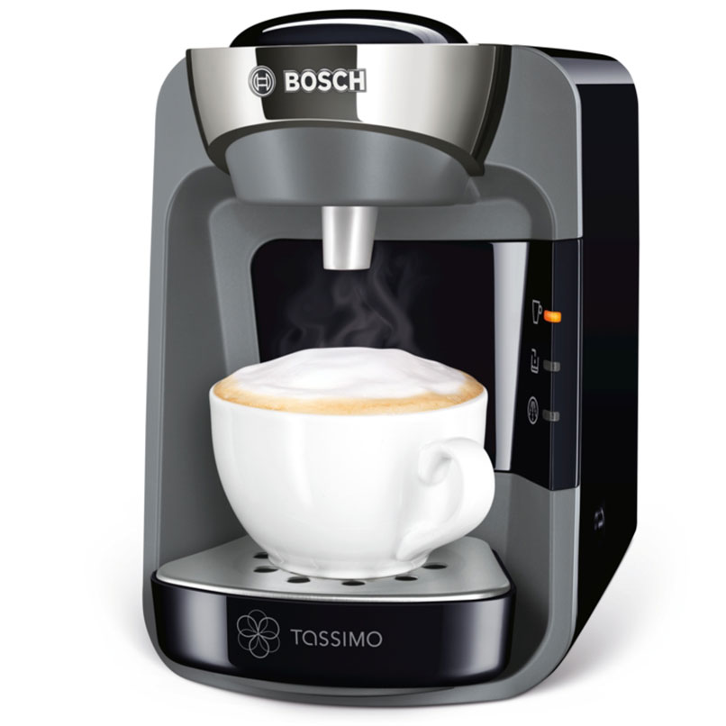 brand new bosch tassimo suny tas3202gb coffee machine maker black. Black Bedroom Furniture Sets. Home Design Ideas