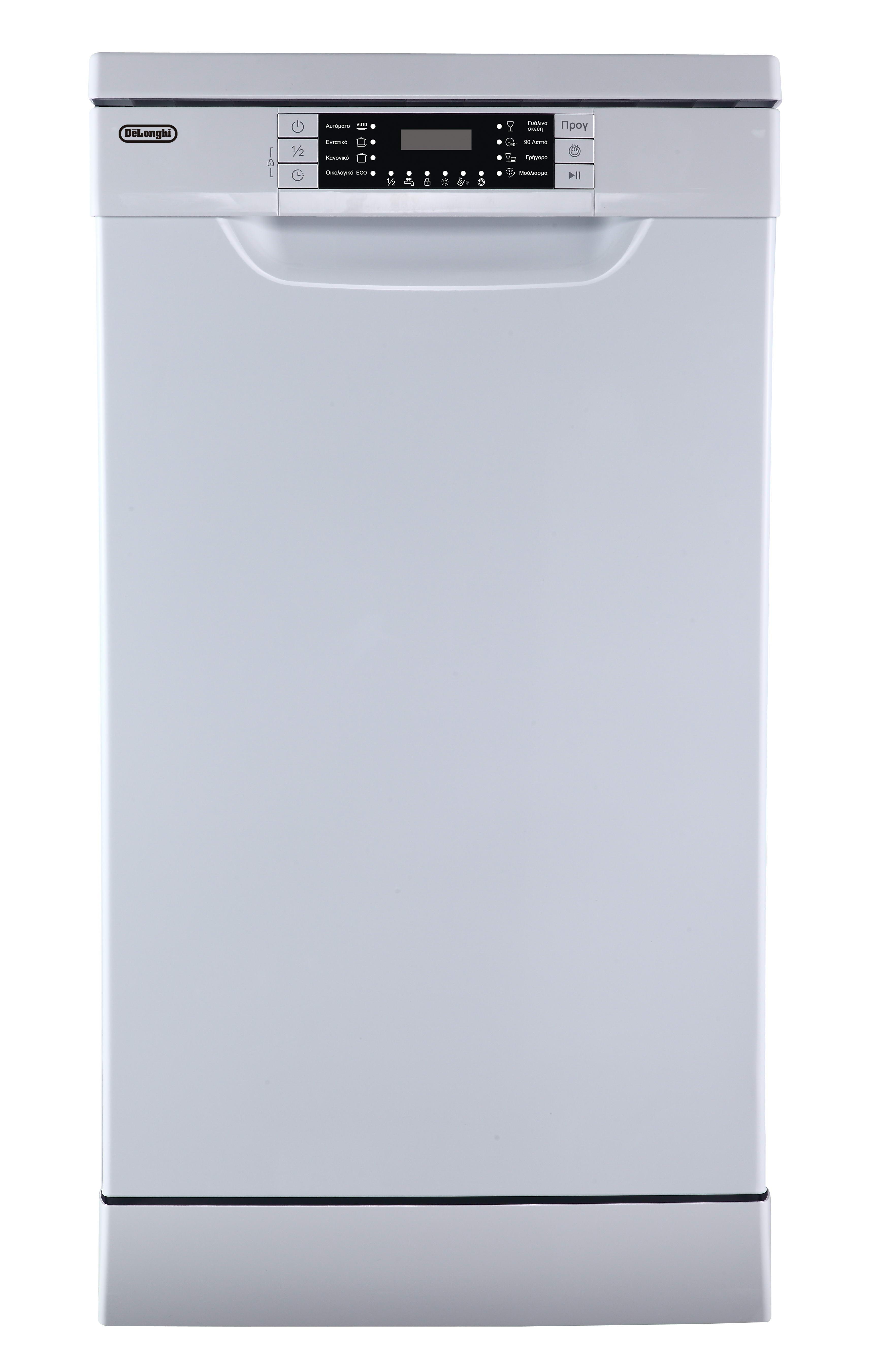Delonghi DDW45W17 Slim Πλυντήριο Πιάτων 45cm fe539d67ff4