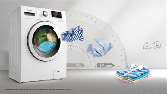 ... να πλύνεις μέχρι και 2 κιλά ρούχα σε 15  χωρίς να χρειαστεί να  περιμένεις να γεμίσει το πλυντήριο. Έτσι μπορείς να φοράς συνέχεια τα  αγαπημένα σου ρούχα ... 070be07929d