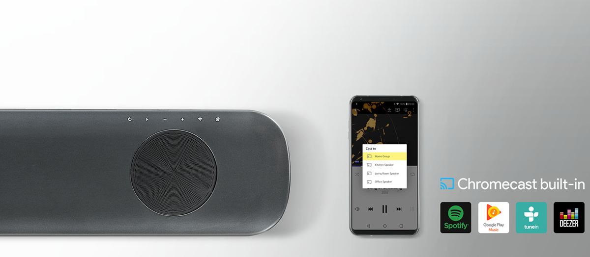 LG SK9Y - Soundbar - Δωρεάν Παράδοση - Kotsovolos gr